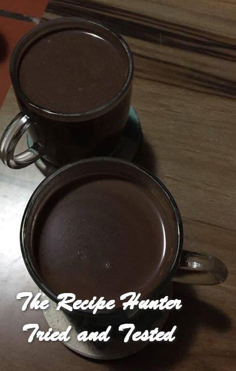 TRH Carla's Dark Hot Chocolate