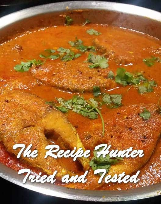 TRH Feriel's Cape Salmon Fish Curry