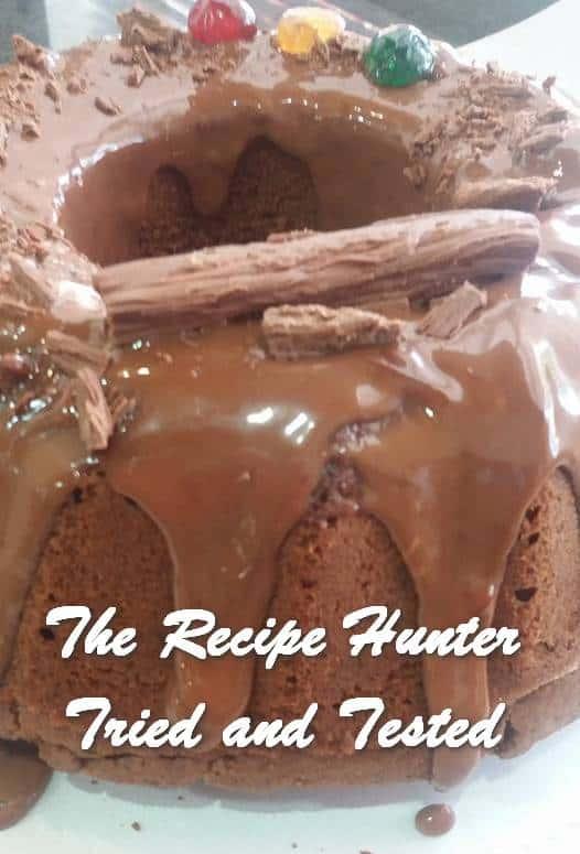 TRH Feriel's Chocolate cake
