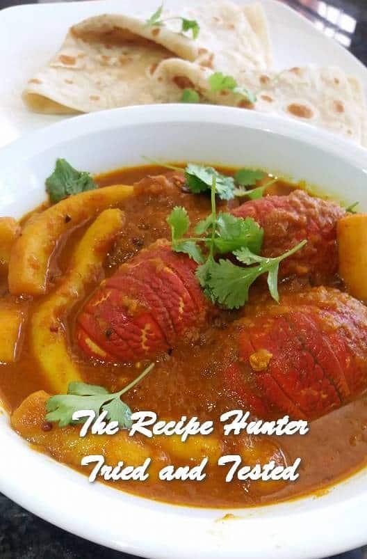 TRH Feriel's Crayfish Tails and Calamari Curry