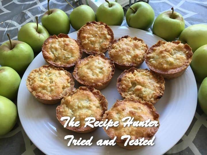 TRH Hannah's Apple Tartlets