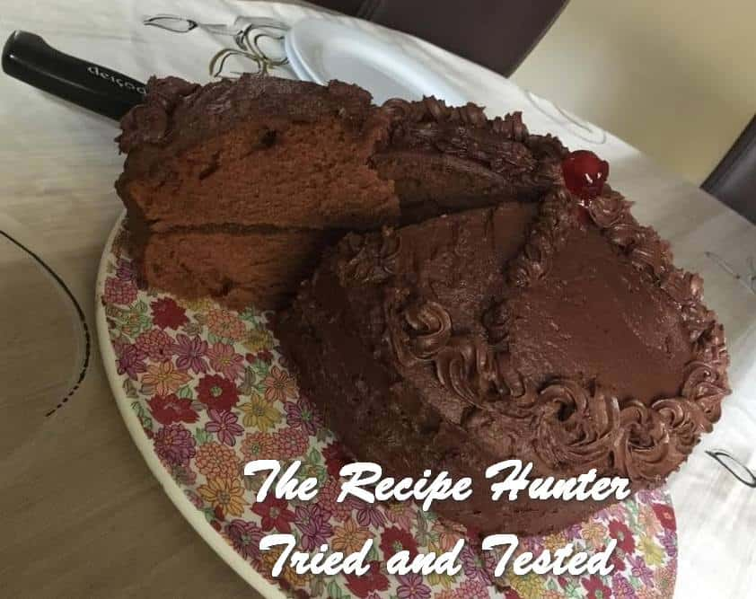 TRH Hannah's Chocolate Hot Milk Sponge Cake