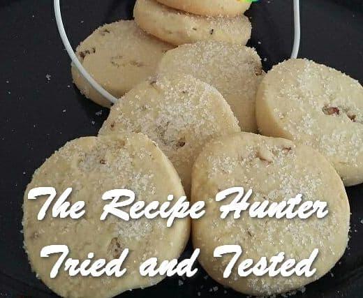 Jameela's Pecan Crisp Biscuits
