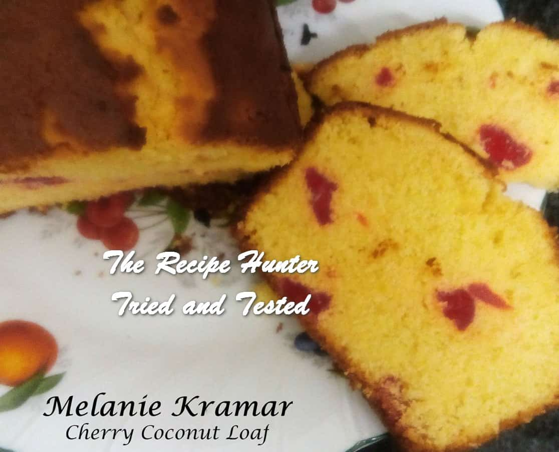 Melanie's Coconut Cherry Loaf