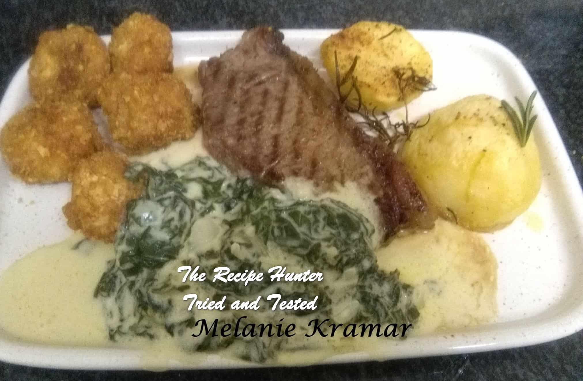 Melanie's Grilled Porterhouse Steaks and Vegetables