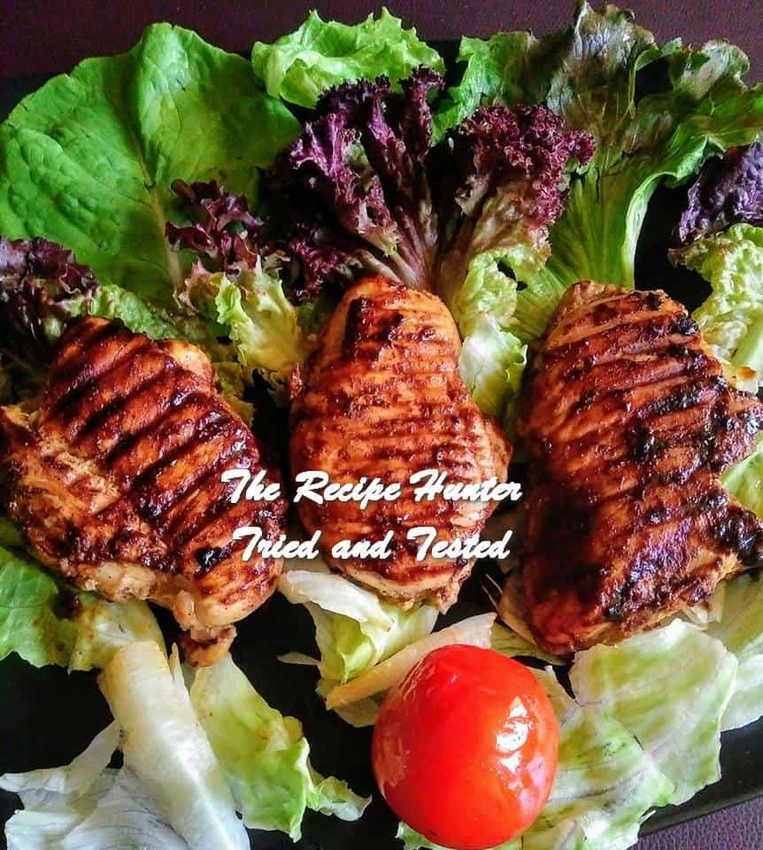 TRH Moumita's Healthy Grilled Spicy Chicken Breasts