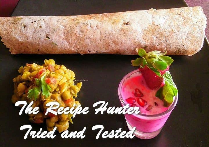 Moumita's Zero Oil Indian Meal