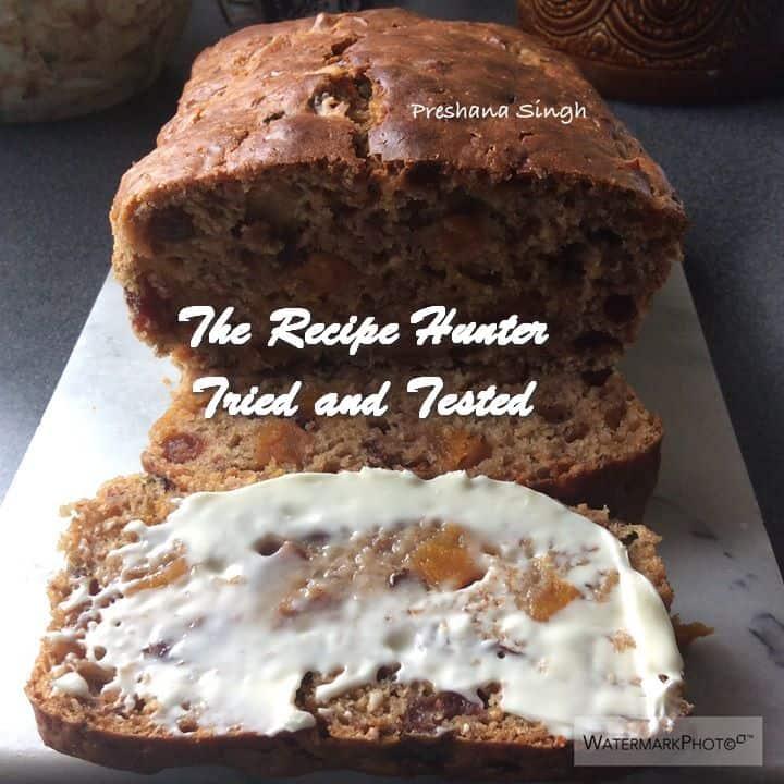 TRH Preshana's Fat Free Yorkshire Tea Loaf