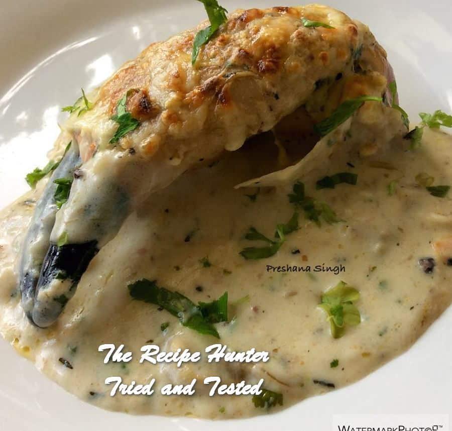Preshana's Fresh Crabs in White Sauce