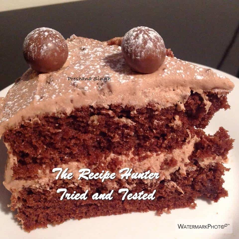 TRH Preshana's Malted Chocolate Cake