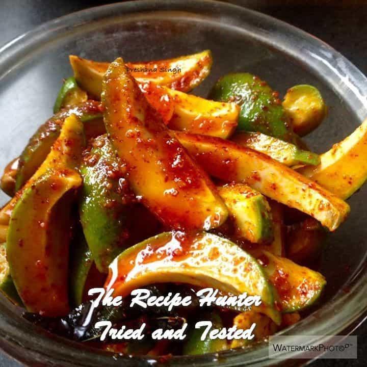 Preshana's Mango Pickle