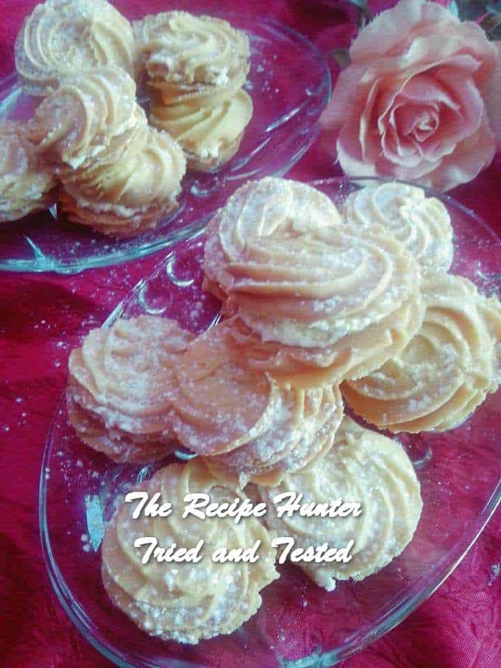 Rashida'a Vanilla Cream Shortbread