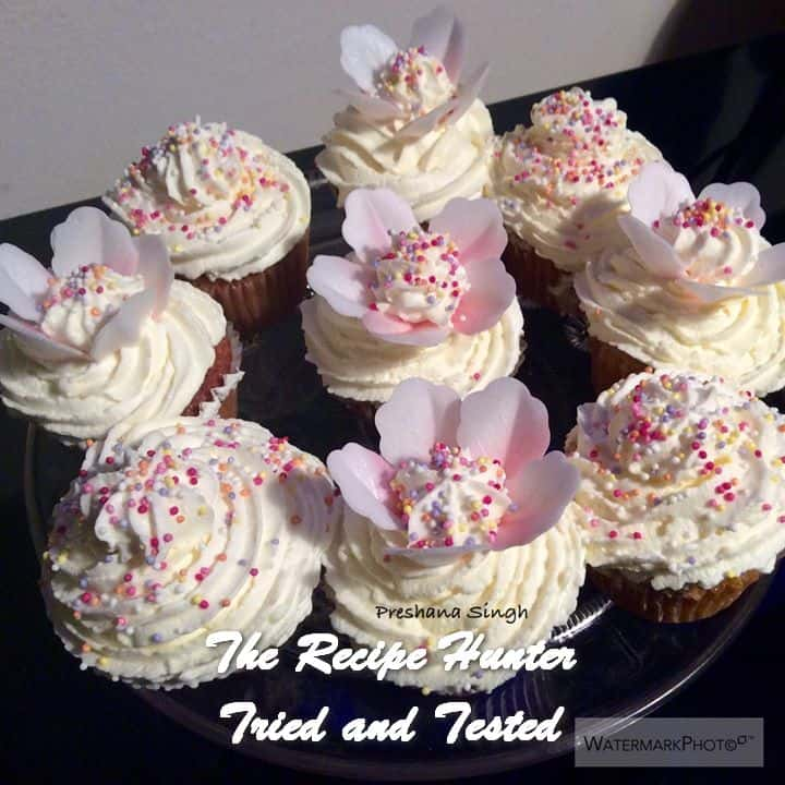 trh-reshanas-cupcakes-with-fresh-cream-wafer-petals-and-sprinkles