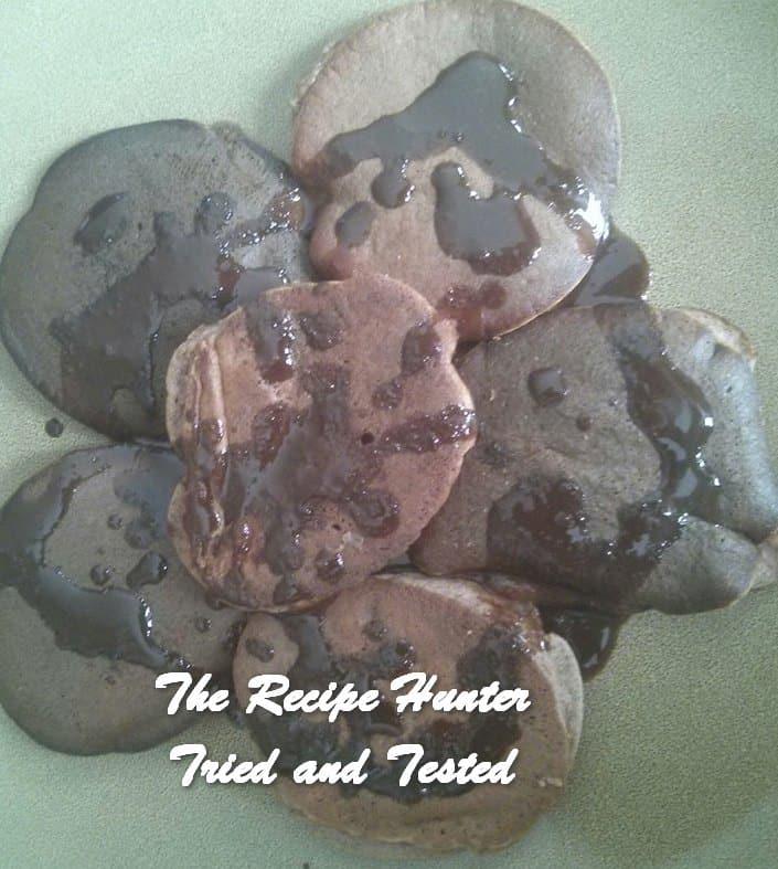 Sean's Vanilla bean Keto 'chocolate' crumpets