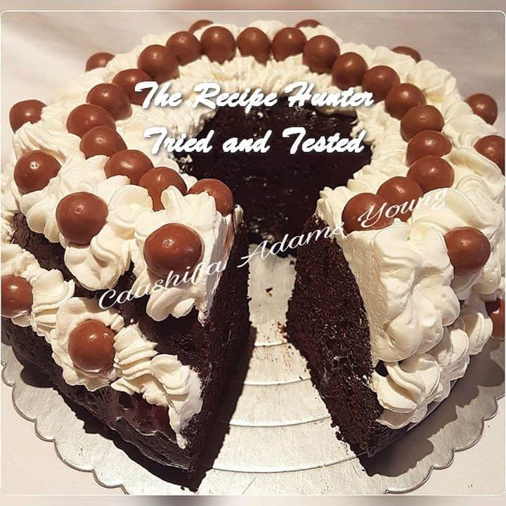 TRH Caashifa's Black Forest Cake