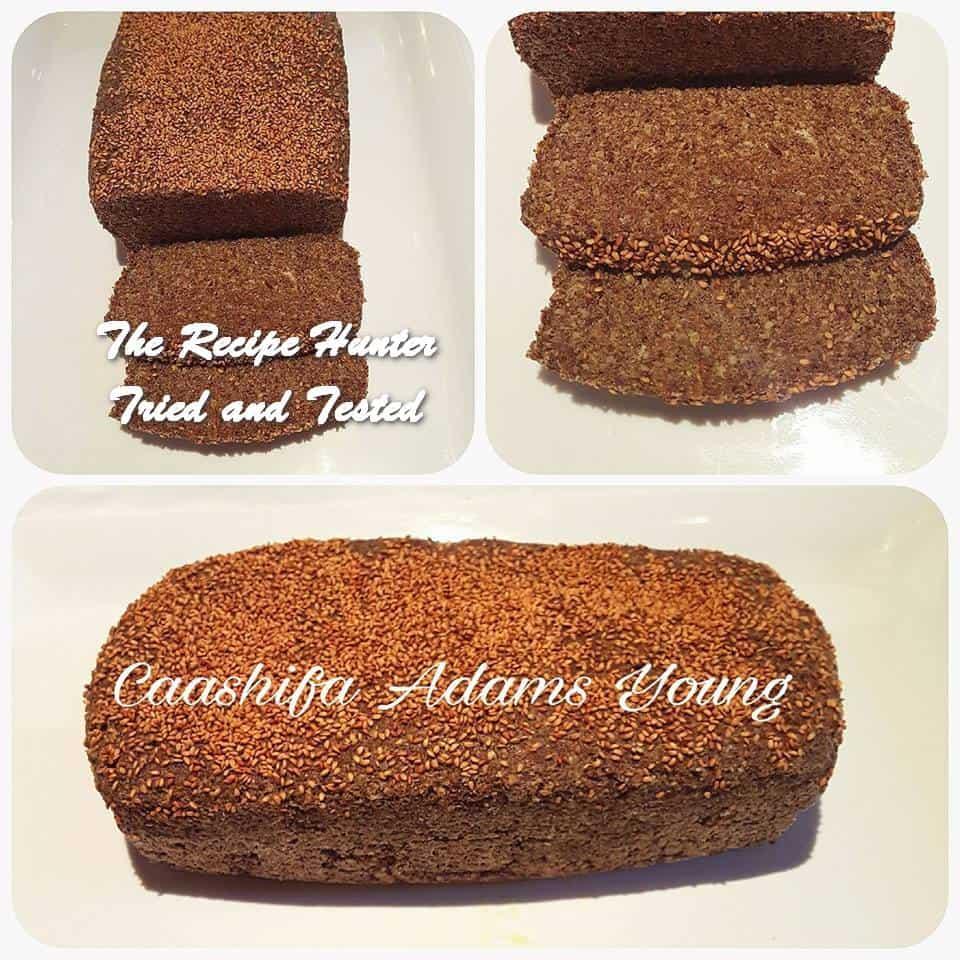 Caashifa's LC Flaxseed Bread