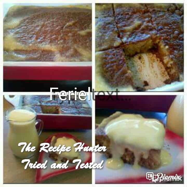 Feriel's Best Ever Malva Pudding