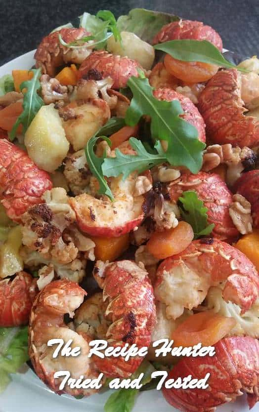 Feriel's Garlic Crayfish Salad