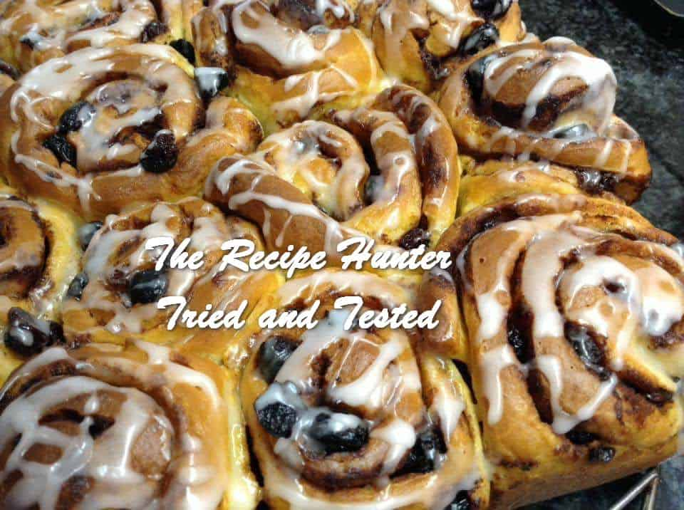 TRH Gail's Cinnamon & Raisin Sticky Buns