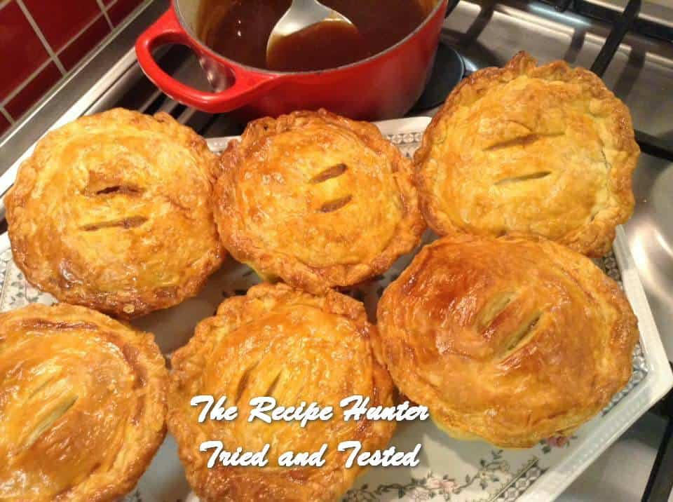 Gail's Savoury Mince and Vegetable Pies
