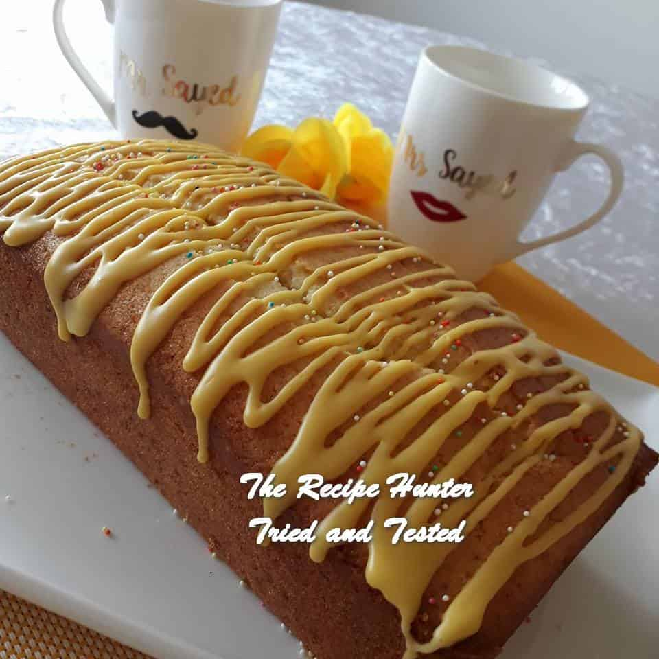 Jameela's Lemon Madeira Loaf