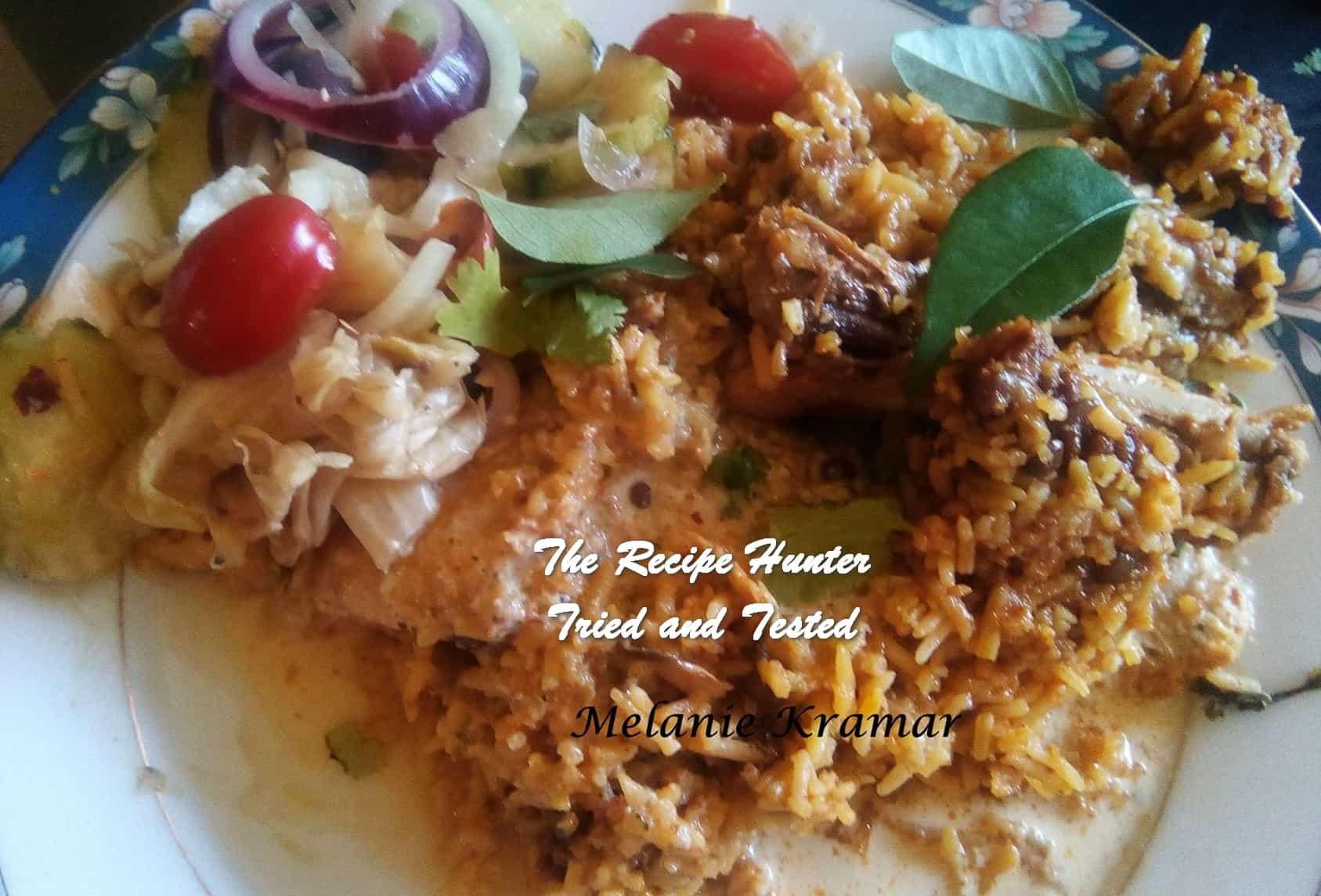 TRH Melanie's Chicken Biryani