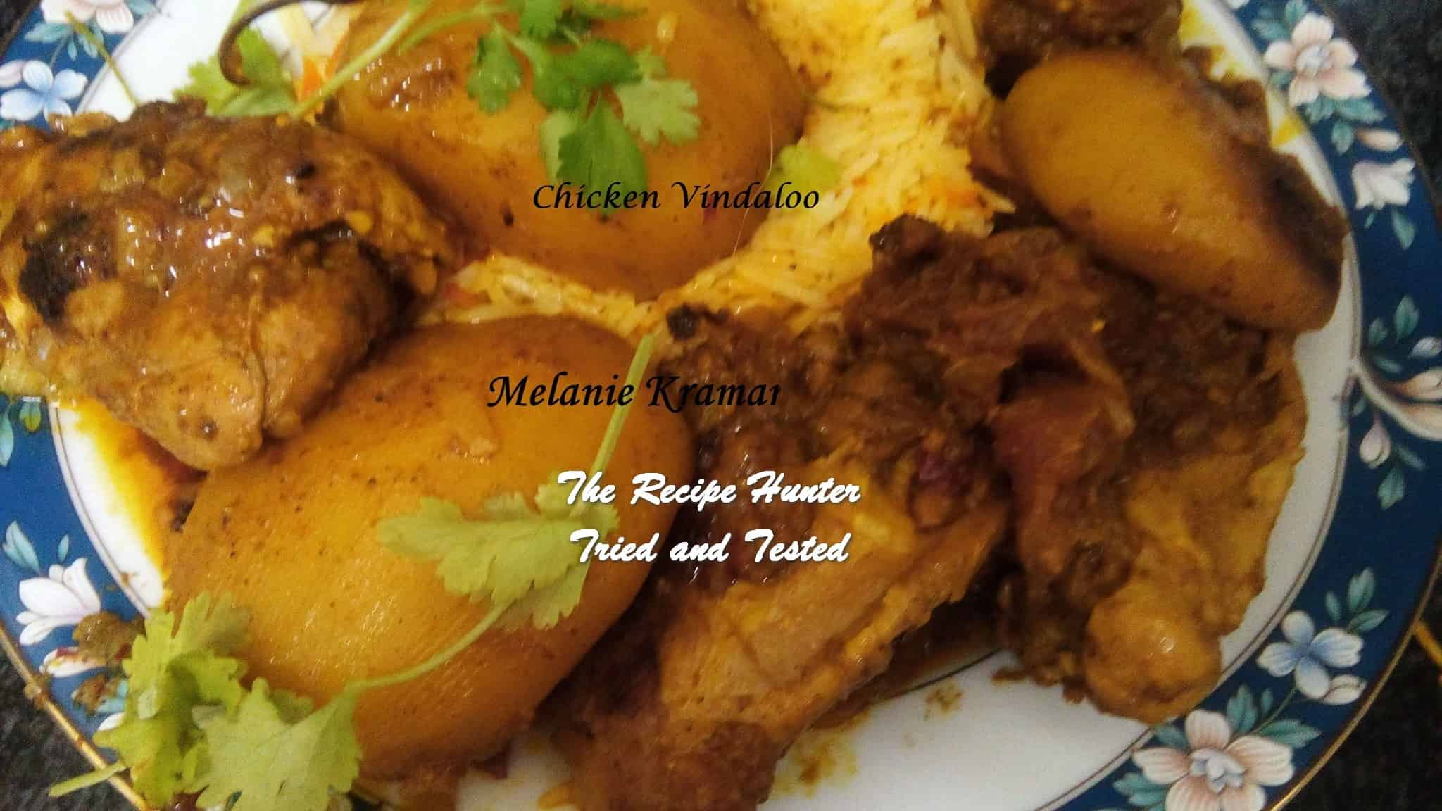 Melanie's Chicken Vindaloo