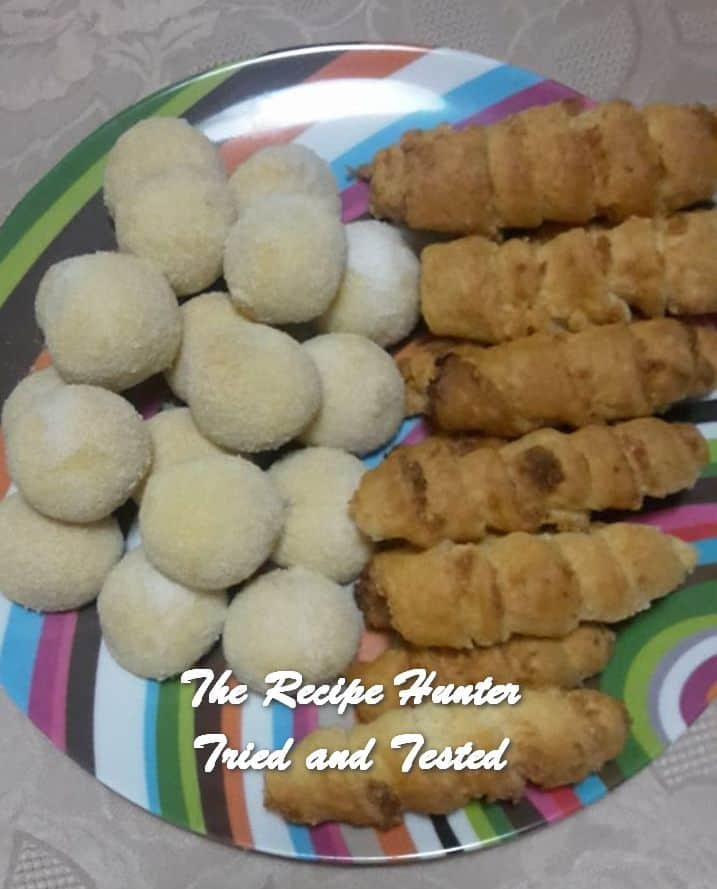 Minnie's Coconut Cones and Chocolate Shortbread Balls