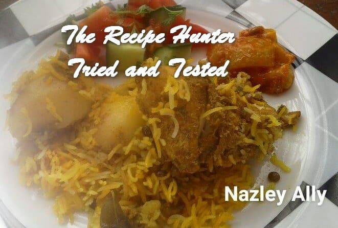 TRH Nazley's Indian style breyani
