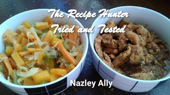 Nazley's Warm Butternut Relish and Chicken Strips