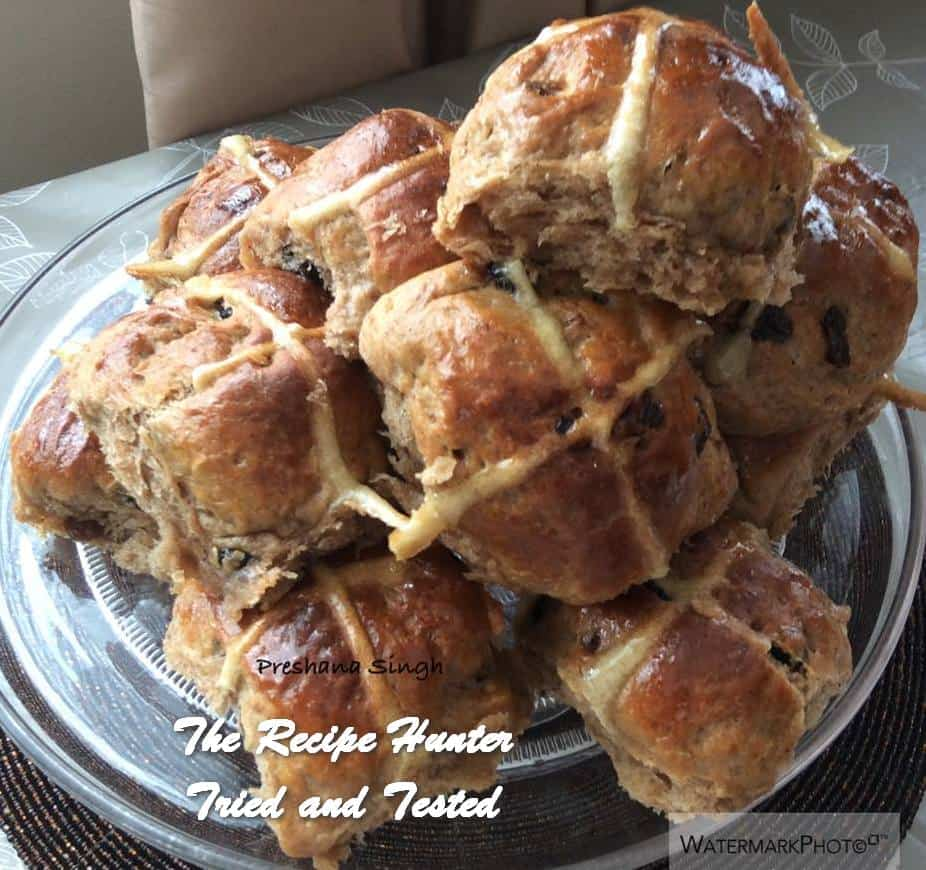 Preshana's Hot Cross Buns