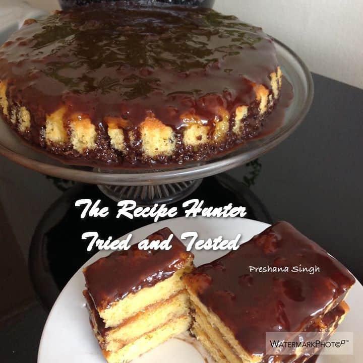 TRH Preshana's Sticky Orange Marmalade Cake