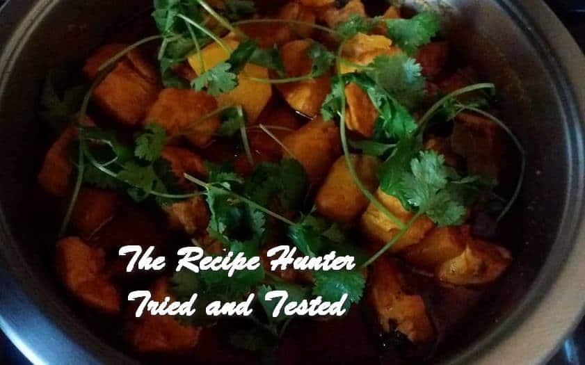 TRH Sandy's Boneless Chicken Curry