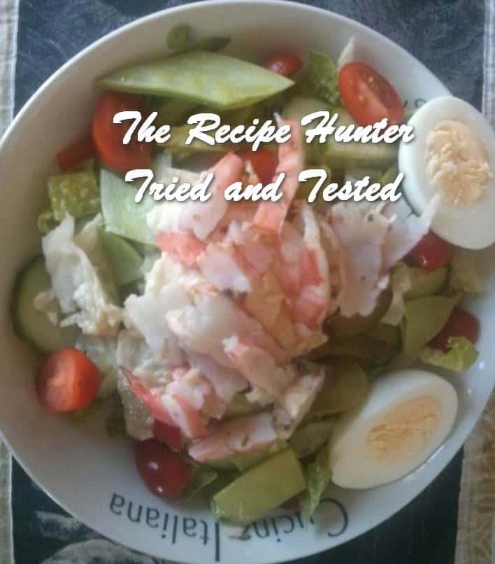 TRH Sean's Lime infused prawn salad