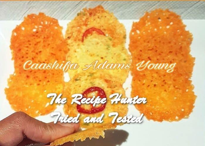 Caashifa's Cheese Crackers/Chips