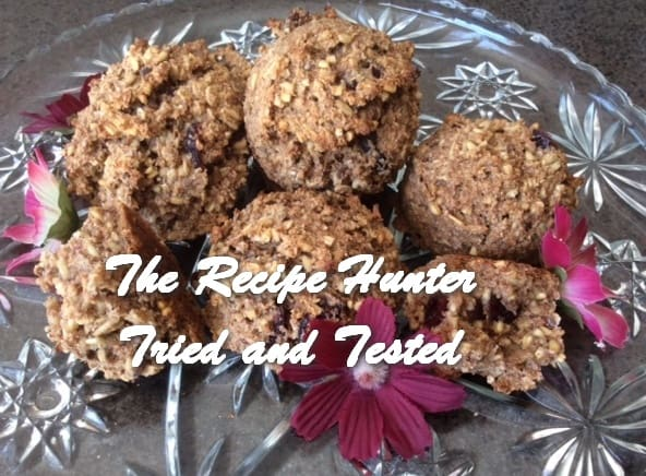 TRH Es's Chewy GF Oatmeal Pomegranate Craisin Cookies2