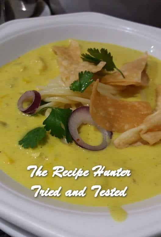 TRH Feriel's Burmese Chicken Soup (Khowse)2