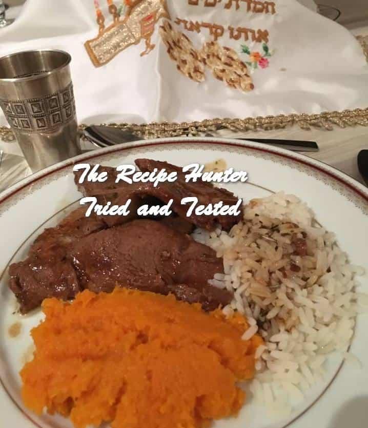 Hannah's Shabbat Roast – Raisin Rib