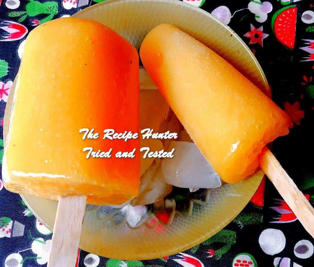 Harjeet's Mango Popsicles