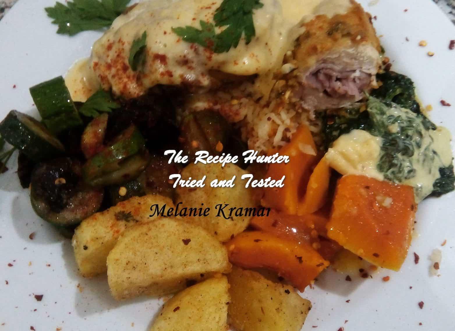 TRH Melanie's Chimmichuri Chicken Cordon Blue