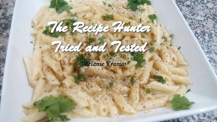 TRH Melanie's Pasta With Mascarpone Cheese