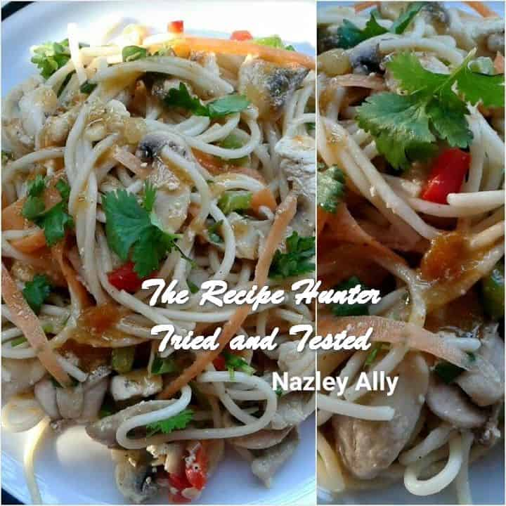 Nazley's Spaghetti Stirfry