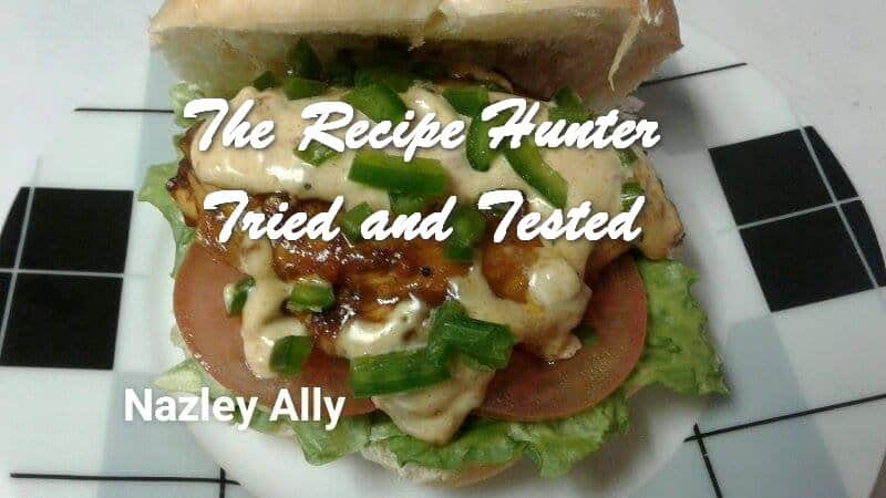 Nazley's Homemade chicken burgers