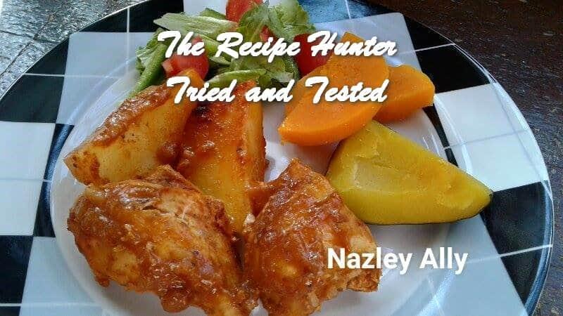 Nazley's Roast Chicken and potato