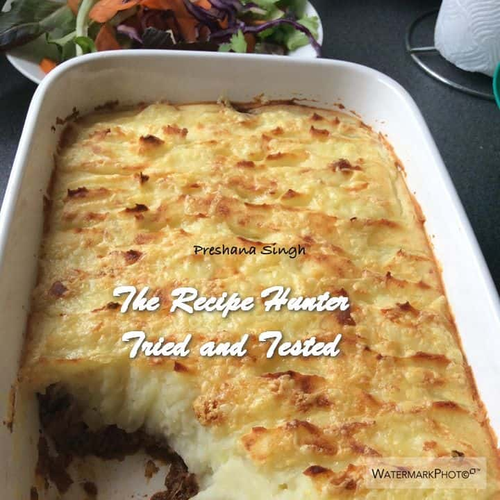 TRH Preshana's Cottage Pie