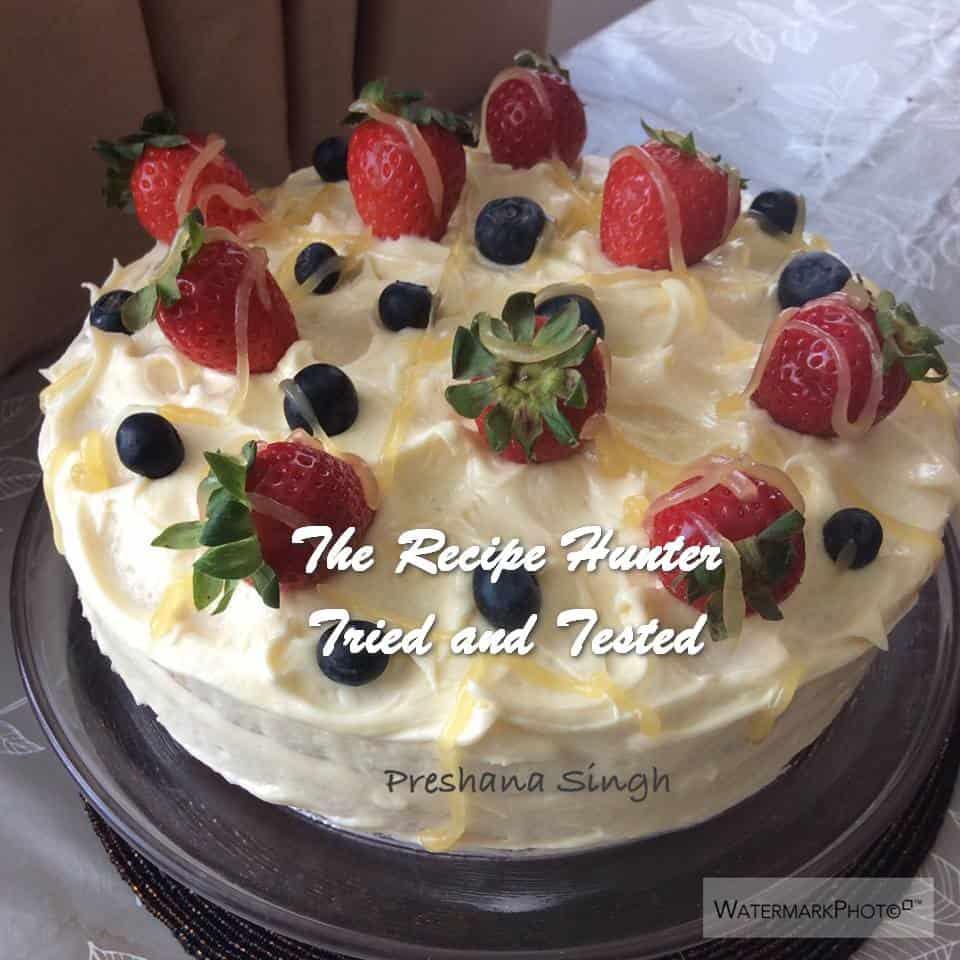 TRH Preshana's Lemon Curd Cake