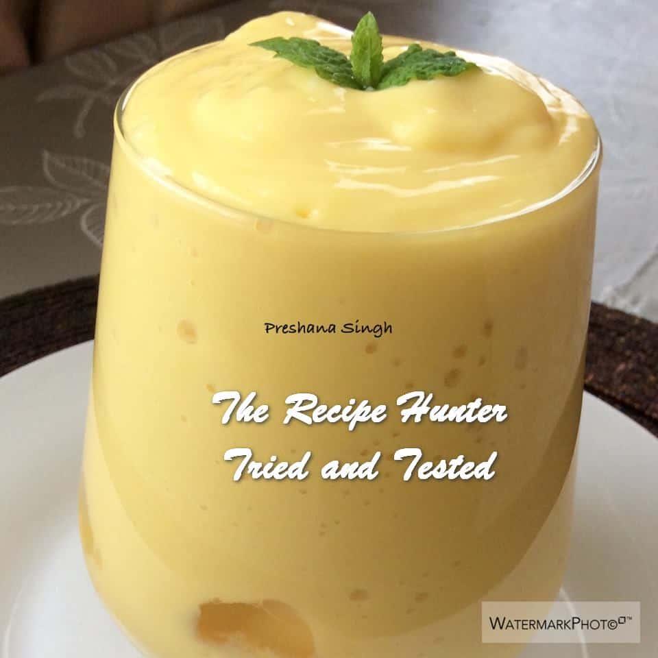 TRH Preshana's Mango Lassi