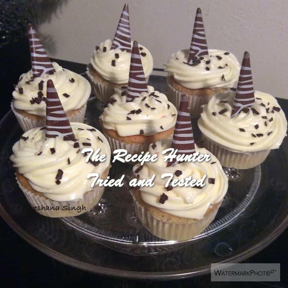 Preshana's Perfect Vanilla Cupcake