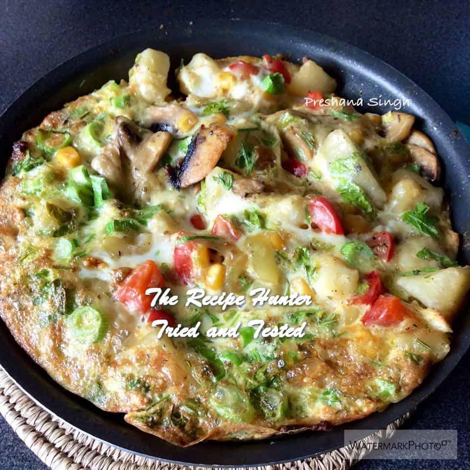TRH Preshana's Spanish Omelette
