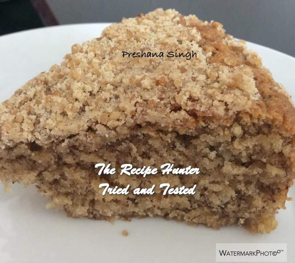 Preshana's Streusel Banana Bread